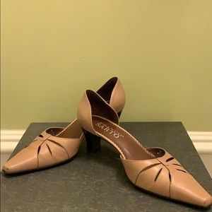Tan Franco Sarto Shoes
